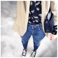 """""""Mi piace"""": 270, commenti: 9 - AnneSo (@anneso.310) su Instagram: """"Ok donc ce matin en parka et boots, cet aprèm en veste et converses... tout va bien  Ah oui et…"""""""