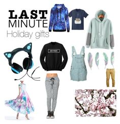 """""""Last minute"""" by animelover-789 on Polyvore featuring Brookstone, WithChic and Pusheen"""
