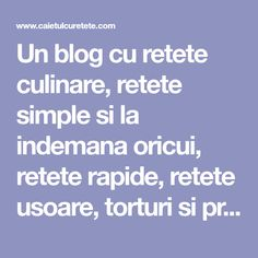 Porc in sos dulce acrisor Kfc, Coleslaw, Panna Cotta, Deserts, Food And Drink, Pizza, Blog, Cooking Recipes, Sweet