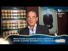 """Mario Conde en """"El Gran Debate"""" presenta candidatura en política: """"Sociedad Civil y Democracia"""""""