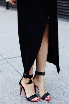 #Tibi high heel sandals
