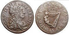 On this page, we will tell you all about the Hibernia Halfpenny Coin minted 1680 - Identifying Coins, Penny Coin, Coin Values, Coin Grading, Us Coins, Ireland, Told You So, Type, Brown