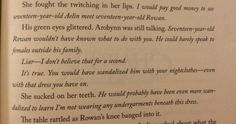 My favorite - friendly reminder- Arrobyn couldn't get under Celaena's skin because she was too busy with Rowan! Throne Of Glass Books, Throne Of Glass Series, Book Memes, Book Quotes, Rowan And Aelin, Aelin Ashryver Galathynius, Sara J Maas, Crown Of Midnight, Empire Of Storms