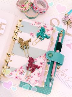 These bling AF paperclips. | 27 Essential Items Every Unicorn Lover Needs