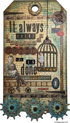 Nelson Mandela Quote Collage (Marjie Kemper)
