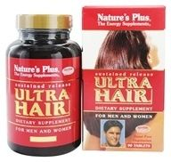 Buy Nature's Plus - Ultra Hair Sustained Release Mini-Tabs - 120 ...