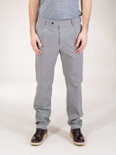 Mauro Grifoni Slim trousers $336.35 Men Trousers, Men's Pants, Parachute Pants, Nice Dresses, Burberry, Slim, Jeans, Shopping, Style