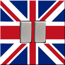 Union Jack Switch Cover