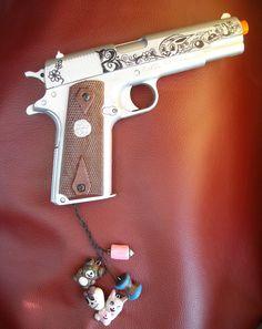Sucker punch babydoll inspired gun / pistol by laracroftcosplay
