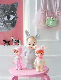 Lapin me lampjes, figuurlamp kinderkamer, lamp meisjeskamer, kinderkamerverlichting, , verlichting kinderkamer
