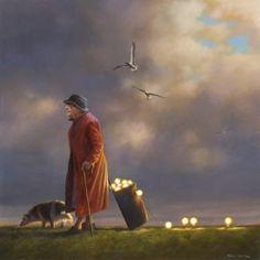 Jimmy Lawlor, The Power Trip, Peinture