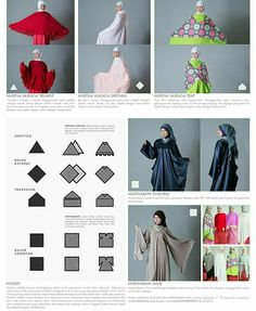Mukena mukaga design concept