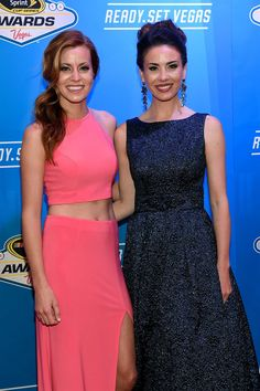 Red Carpet Photos from the Sprint Cup Awards:   Saturday, December 3, 2016  -   Miss Sprint Cup Madison Martin and Miss Sprint Cup Julianna White attend the 2016 NASCAR Sprint Cup Series Awards at Wynn Las Vegas on December 2, 2016 in Las Vegas, Nevada. Photo Credit: Getty Images