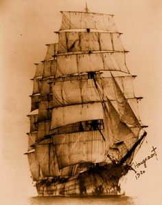 Nautical Handcrafted Decor Blog: Tall Ships