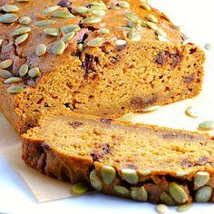 JULES FOOD...: Low Fat Pumpkin Bread w/Chocolate Chips