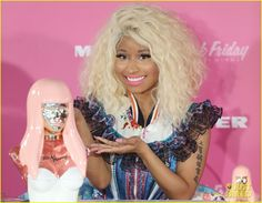 Nicki Minaj launching her debut fragrance 'Pink Friday' in Austrilasia