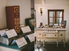 Carondelet House Dinner Party Wedding... Cottage meets library feel - YES