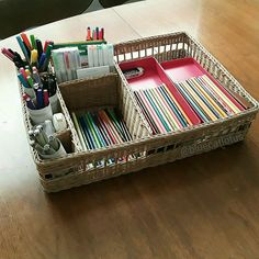Organized bullet journal supplies  @bluecatlotus