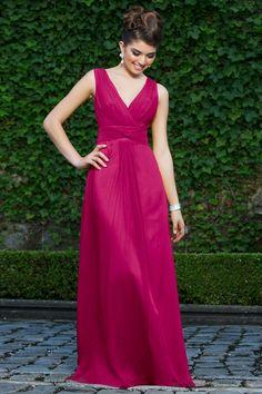 deep pink/raspberry bridesmaid dress - Google Search