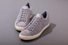 TAKAHIROMIYASHITA TheSoloIst. x adidas KZK ObyO Rod Laver: Grey Suede