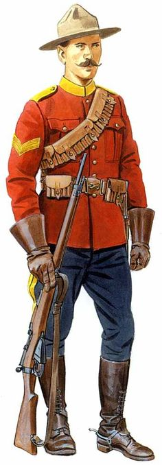 Canadian trooper Boer War - 15th Alberta Light Horse http://www.victorianwars.com/