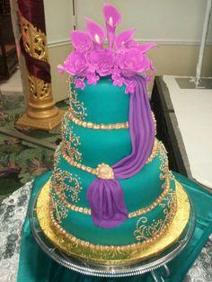 indian wedding cake designs - Google Search