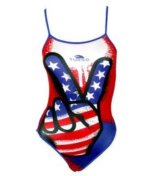 USA Victory ladies swimsuit. Get it at www.turbosa.co.za Water Polo, Herve Leger, Women Swimsuits, One Piece, Usa, Lady, Swimwear, Fashion, Bathing Suits