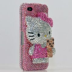 hello kitty bling 3D iphone case