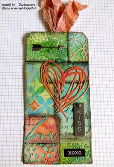 12 TAGS OF 2015: SECOND CRAZY MIXED MEDIA VERSION!!! | yaya scrap & more | Bloglovin'