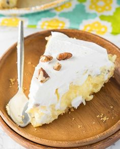 Cool, creamy and an irresistible no-bake dessert, this Pineapple Fluff Pie has it all! Have you ever had Pineapple Fluff? It's that pudding/cool whip based dessert that's filled with crushed pineapple, marshmallows, coconut and pecans. All You Need Is, Pie Recipes, Dessert Recipes, Pudding Recipes, Dessert Ideas, Baking Recipes, Salad Recipes, Dinner Recipes, Pineapple Fluff