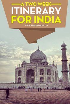 A Two Week Itinerary for India – Nina Putu A Two Week Itinerary for India india travel – girl looking at taj mahal at dusk Goa India, India Tour, Delhi India, Agra, Jaipur, Travel Advice, Travel Guides, Travel Tips, Travel Hacks