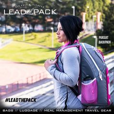 Who's ready to #leadthepack with Dana Linn Bailey and the 2014 Pursuit backpack?!  www.sixpackbags.com