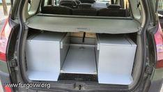 [Renault Grand Scenic] Camper edition Scenic Renault, Converted Vans, Van Life, Motorhome, Diy, Cars, Rv Living, Rv Interior, Back Doors