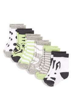 Free shipping and returns on Nordstrom Baby Crew Socks (Babies) (6-Pack) at Nordstrom.com. Chase the chill from your little one's feet with stylish socks crafted from an ultrasoft blend.