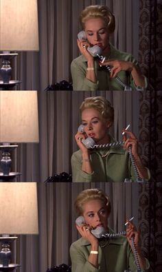 Tippi Hedren: The inflection of gesture in The Birds.