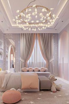 Kids Bedroom Designs, Room Design Bedroom, Room Ideas Bedroom, Kids Room Design, Home Decor Bedroom, Luxury Kids Bedroom, Modern Bedroom, Dream Rooms, Luxurious Bedrooms