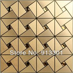 Metal mosaic tile deco mesh kitchen backsplash flooring bathroom wall wholesale aluminum composite panel mirror sheet design art-in Mosaics from Home Improvement on Aliexpress.com $26.25