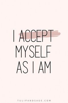 20+ Positive Affirmations For Self-Love | Tulip and Sage