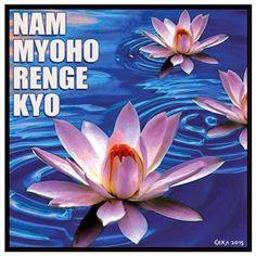 """""""O Daimoku do Nam-myoho-rengue-kyo é a fonte de energia e esperança que permite às pessoas aproveitar da maneira mais positiva a vida, a cada dia, para que conduza uma existência plena de vitória, brilhando com a alegria de viver"""""""
