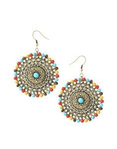 earrings: ethnic accessory