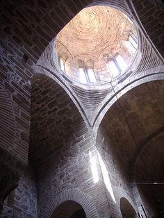 Hosios Loukas Interior view of the dome of the Theotokos (Panaghia) Byzantine Art, Roman Emperor, Classical Architecture, Medieval Art, Crete, Renaissance, St Luke, History, Historia