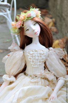 Коллекционная кукла Ева. Handmade.