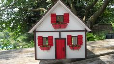 Quarter Scale Dollhouse Cottage. White by LindaIrwinCottages
