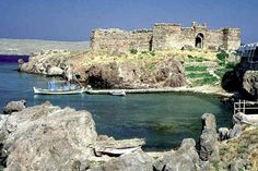 Castle of Sigri Lesvos Island