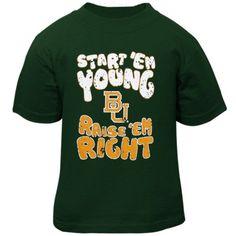 Baylor Bears Infant Start 'Em Young T-Shirt - Green