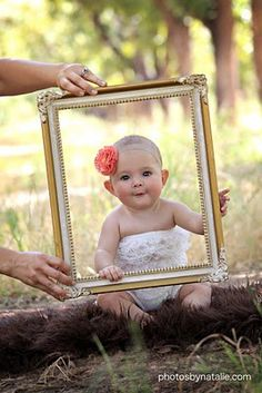 Ideas For Baby Girl Birthday Photoshoot 1 Year Cute Photos, Cute Pictures, 6 Month Pictures, 6 Month Baby Picture Ideas, 1 Year Photos, Baby Girl Pictures, 4 Photos, Family Pictures, Wedding Pictures