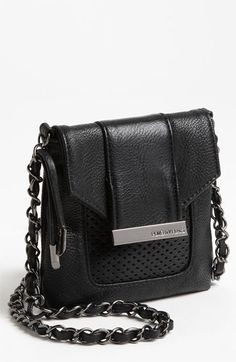 POVERTY FLATS by rian 'Mesh Detail - Mini' Crossbody Bag available at #Nordstrom