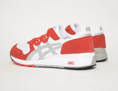 #Asics - Gel Epirus - White/Red #sneakers