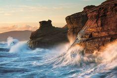 littlesheepies:  Endurance - Cape Kiwanda, Pacific City, Oregon (by Jim Patterson Photography) LANDSCAPE BLOG