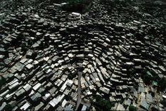 Barrios (bidonvilles) de Caracas au Vénézuela